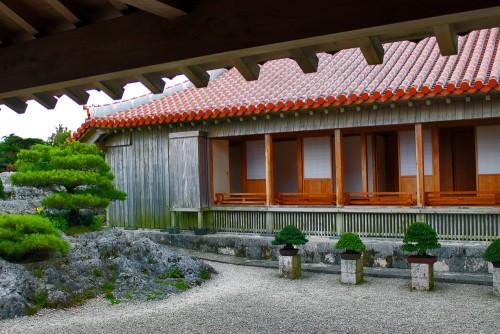 Shuri castle also has a beautiful garden.