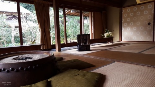 room for tea ceremony