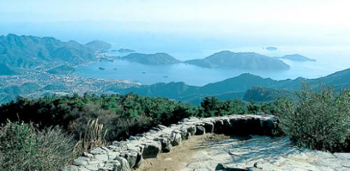 Shodoshima, island view