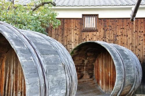 Hakushika sake brewery museum