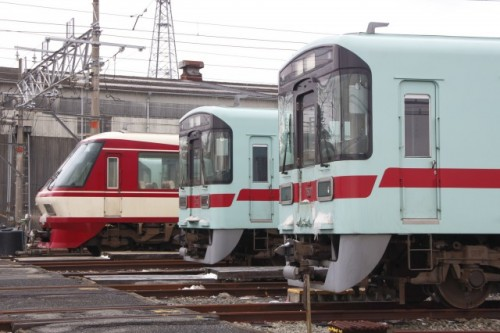 Nishitetsu train is a key transportation way in Fukuoka