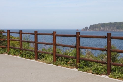 A View of the Ocean of Jodogahama, Iwate prefecture