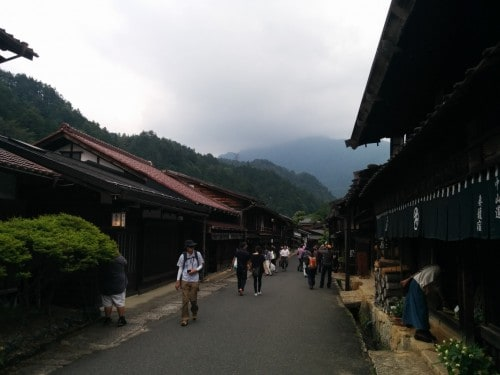 The main street of Tsumago, Kiso valley