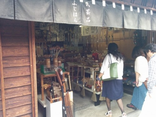 Kiso Valley, shopping store