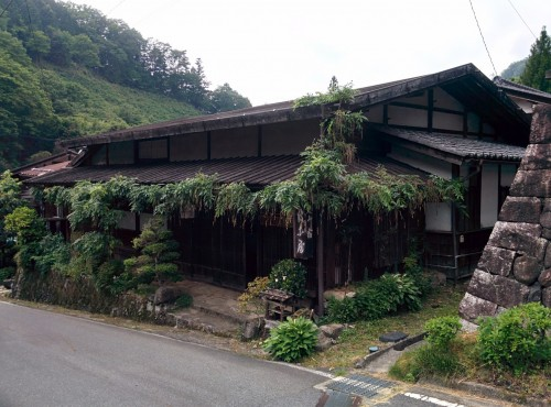 A ryokan at Kiso Valley