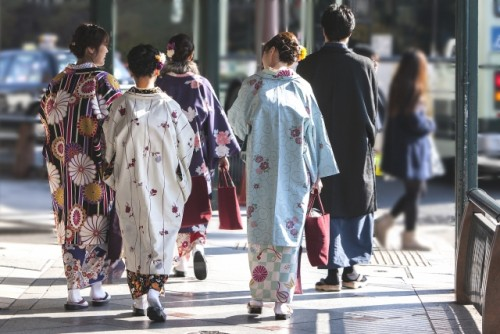 Japanese traditional costume, Kimono