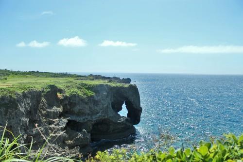 Maeda cape in Okinawa