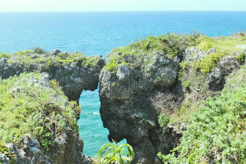 ocean view in Okinawa