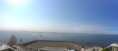umihotaru tokyo bay view was breathtaking!