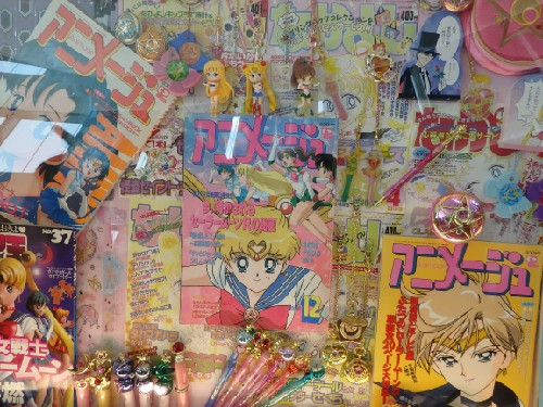 The collections of Sailor moon