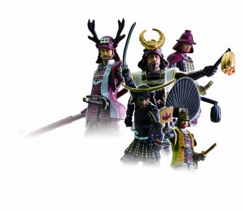 Samurai figure BANDAI is one of unique items in Japan