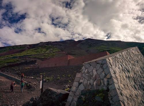 The view, Mt Fuji