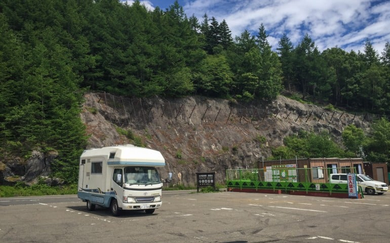 Road trip Japan in a camping car with Camp-in-car