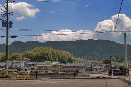 Miyama village in Kagoshima Prefecture, Kyushu, Japan.