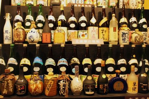 Kagoshima Kyushu Local Specialty Honkaku Shochu Brewery Satsuma Shuzo Izakaya Tasting
