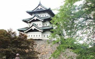 Hirosaki castle in Aomori prefecture