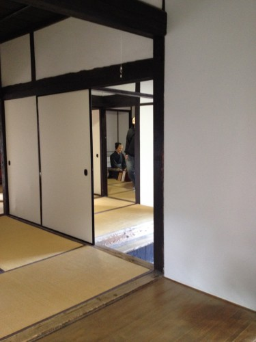 Interior of samurai house attracts our curiosity toward japanese life