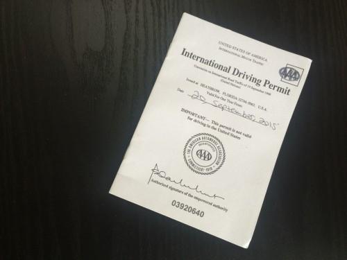 American International Driving Permit