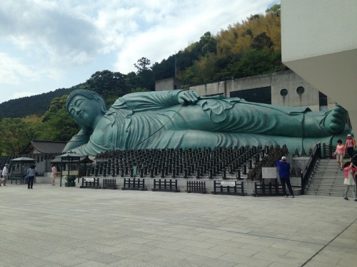 Nagasaki's reclining buddha at Nanzoin Temple