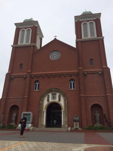 Urakami Cathedral is the main building here