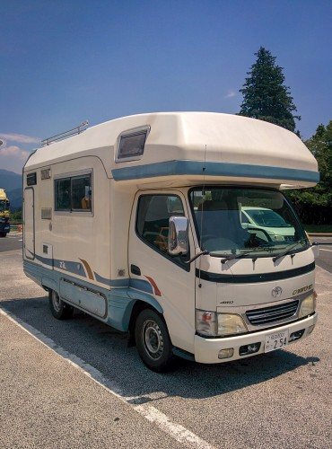 Camper van rent by Camp-in-car!