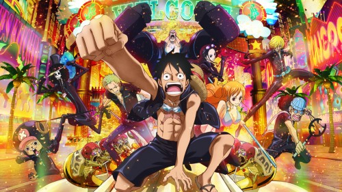 one piece is one of the most latest popular anime among Japanese