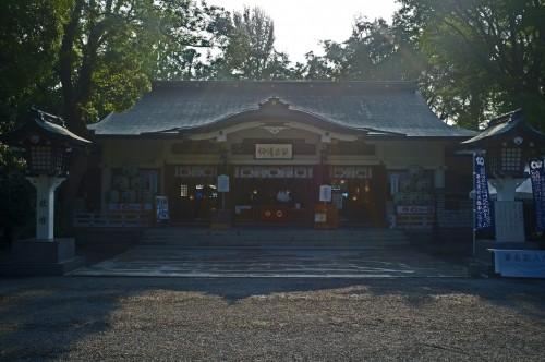 Kato Shrine, virtually untouched by the earthquake.