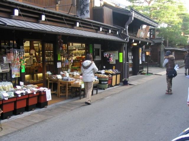 Takayama shopping street