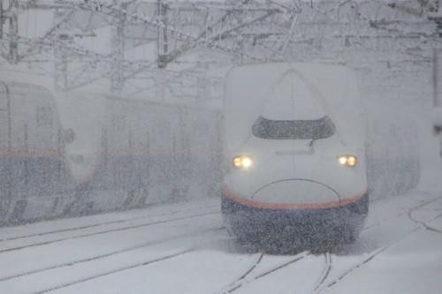 s_雪の上越新幹線