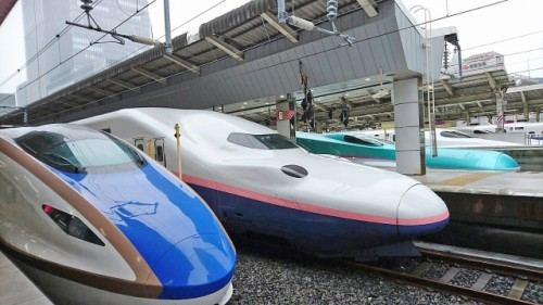 Shinkansen allows you to move to other part of japan the most rapidly