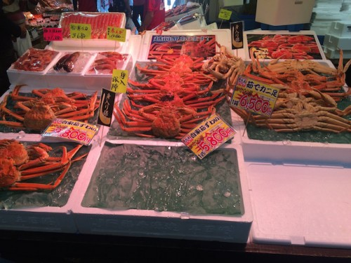 sakana machi crabs, Sea of Japan's speciality!
