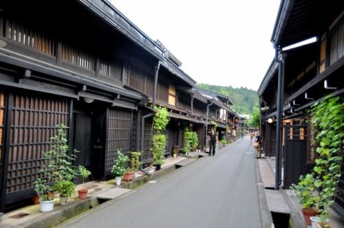 takayama old town in Gifu prefecture