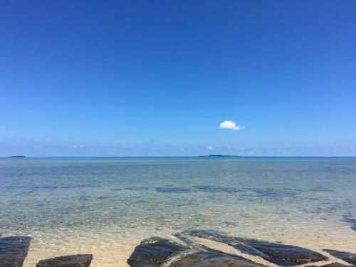 Iriomote Island beautiful beach landscape view