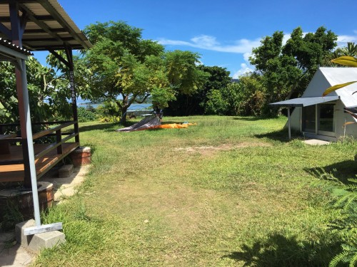 Iriomote Island camp ground