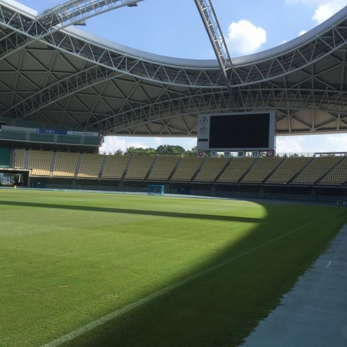 Here is the ground where Rugby World Cup in Japan is about to be held in2019