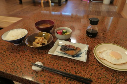 Another nice meal at Farmer's inn in Yamakoshi