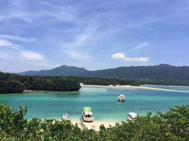 Beautiful Views at Kabira Lagoon in Ishigaki Island, Okinawa