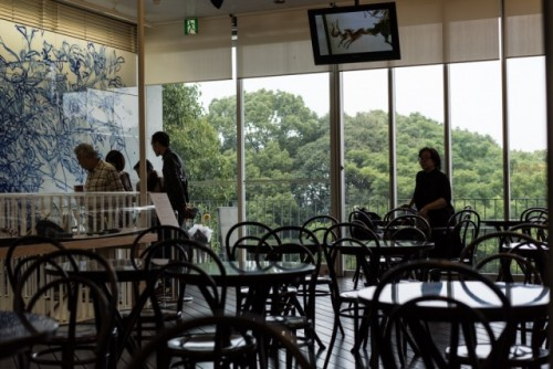 Shiseido cafe
