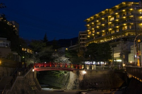 Arima onsen is one of the most popular Onsen town in Kansai region.
