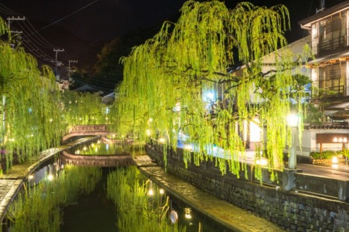 Kinosaki onsen is not far from Osaka!