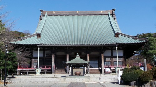 Great Hondo of Yugyo-ji temple