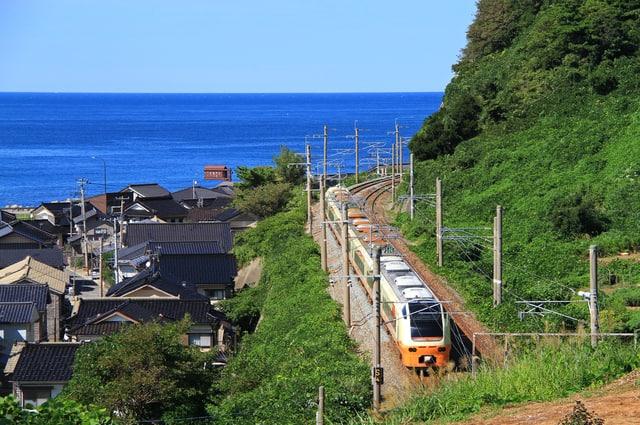 Murakami, Niigata prefecture, Japan.