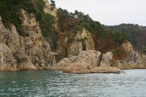 Wonderful nature landscape from Sasagawa Nagare cruise