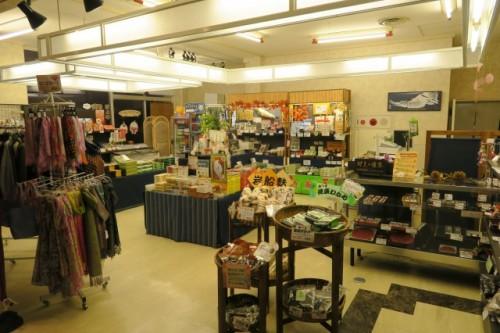 souvenir shop in Senami onsen ryokan