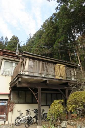The ryokan house in Shima onsen