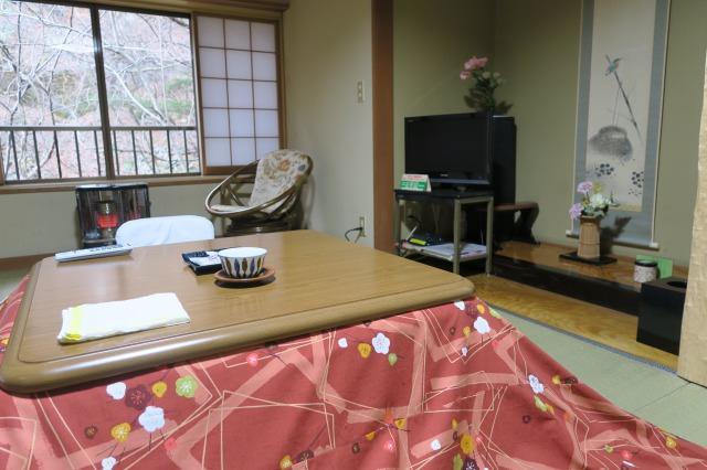 Komatsu setting in the room, Shima onsen Ryokan