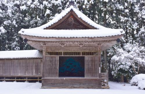 Noh stage Ushio shrine