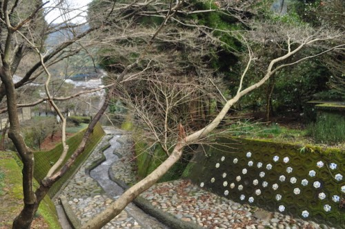 The scenery in Imari village