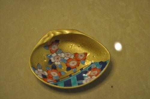 Gold Imari ware