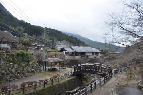 A local view in the Imari village